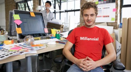 Millennialas en el trabajo